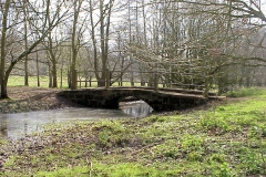Small stone bridge near Stareton : Spring-2000 : photo Duncan Bean