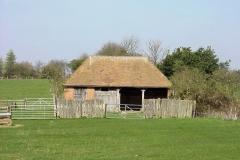 Refurbished barn near Bubbenhall : Spring-2000 : photo Duncan Bean