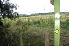 Leaving Hollyhurst Farm Spinney, heading for Bedworth : 14-Aug-2005 : photo Con McHugh
