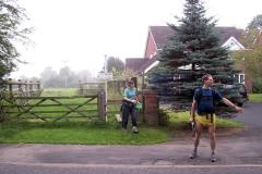 07:49 : Crossing Spencer's Lane, Carol Green