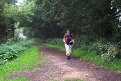 08:03 : Approaching Kenilworth along the Greenway