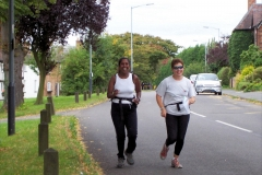 ACW Challenge : 2-Sep-2007 : approaching Check Point 4, Lutterworth Road, Brinklow