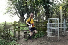 ACW Challenge : 5-Apr-2009 : Brinklow Castle: (The k/g is a shorter route to the checkpoint, & fewer people went this way than usual - BUT some did, so maybe we need to waymark even better?)