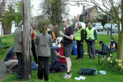 ACW Challenge : 5-Apr-2009 : Brinklow Village: As always a busy stop, marking more than half ACW completed.