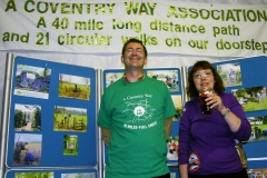 "20:25 : Mike & Deirdre of ""Keep Burton Green HS2 Action Group"" celebrating"