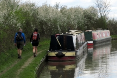12:09 : Along the towpath by the Coventry Canal. Photo - Chris Boden