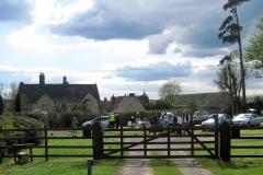 15:03 : Approaching Checkpoint 6 near Astley Lodge Farm. Photo - Chris Boden