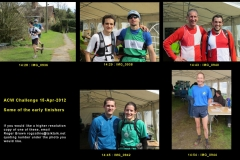 14:28 to 14:54 : Some of the early finishers, page 1 of 4 - portraits by Roger Brown.