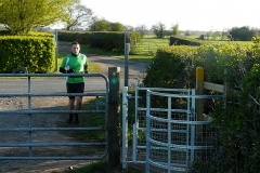 08:06 : People found our new stile making the way easier than the old stile on top of a slippery little mud hill!
