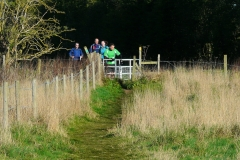 08:06 : ... a wide, dry, grassy path which crosses what was the Carol Green Marsh Area ...