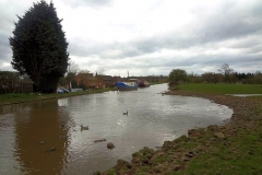 Ansty, old canal re-joins current Oxford Canal ...