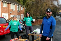 08:46 : Kenilworth Check Point & food - with welcome from Uli & Miranda & all Participants