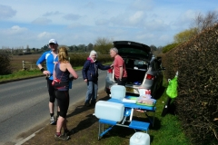 12:10 : On Map 12,  with Iris Bean visiting the Water Stop near Ansty Golf Club