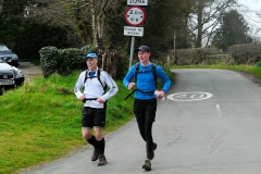 18:01 : On Map 18, and nearly to the Finish.  Does the on Road sign mean 40 mile point?