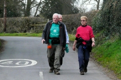18:03 : Walkers from Wolston/Bretford start, and nearly to the Finish
