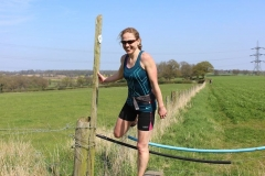14:12 : Climbing the stile (maybe a gap) not much before CP6