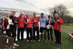 """Massey Ferguson RC  6 : Meriden Queens Head """"Marquee"""" with their Certificates and Badge!"""