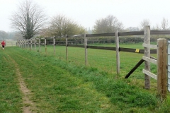 11:39 : This is a fence for the paddocks, with very high and strong electic lines near the top.